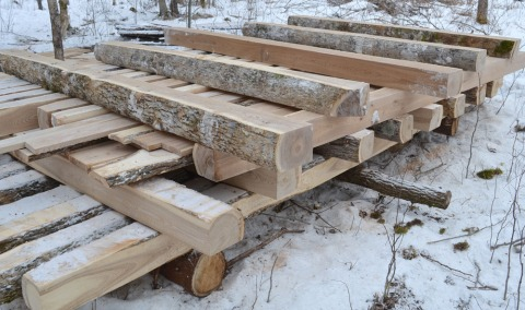 Building a cabin in northern Wi  | Portable Sawmills & Forestry